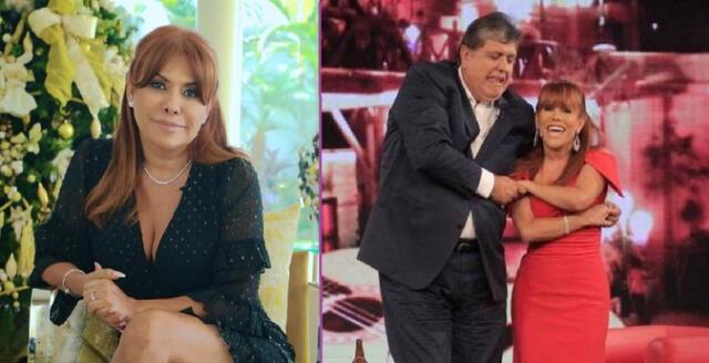 Magaly Medina compartió entrevista con Alan García.