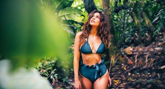 """Milett Figueroa contenta con su figura: """"Puedo sentirme orgullosa de mis kilitos de más"""""""
