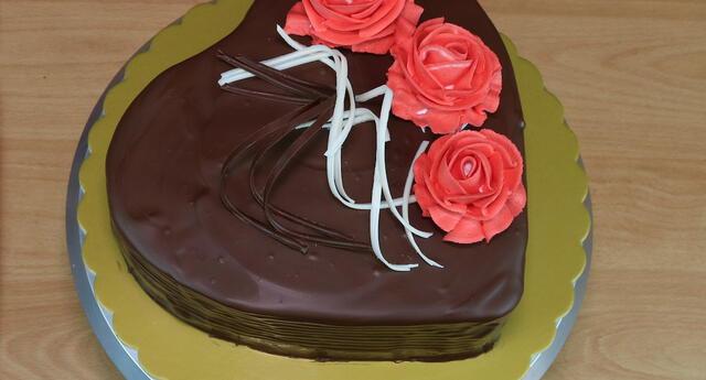 Deliciosa torta por el Día de la Madre