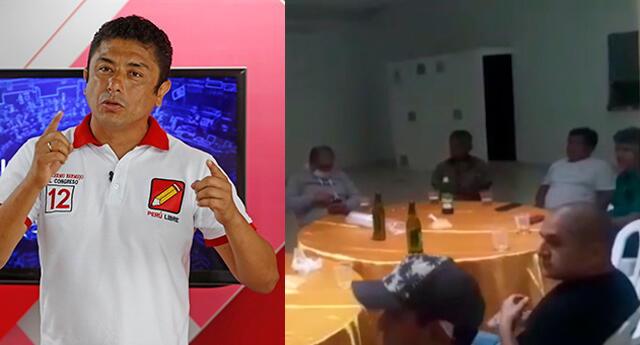 Guillermo Bermejo es intervenido en fiesta COVID-19