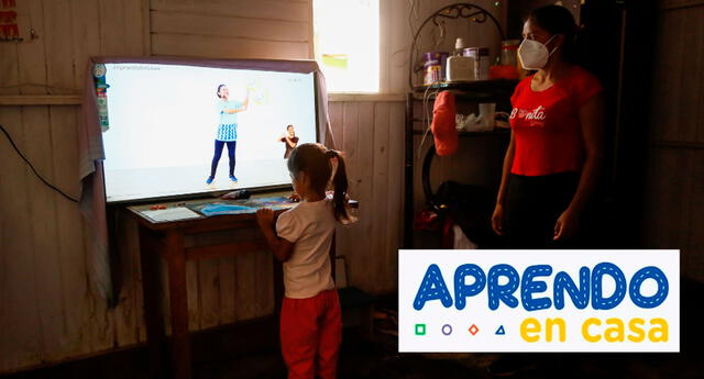 Aprendo en Casa horario TV Perú la programación del 4 de mayo