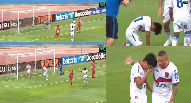 Alianza Universidad logró el empate ante Sport Huancayo sobre el final del encuentro.