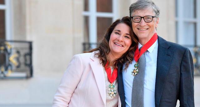 La pareja ha dirigido la fundación Bill & Melinda Gates durante más de 20 años y tienen tres hijos.