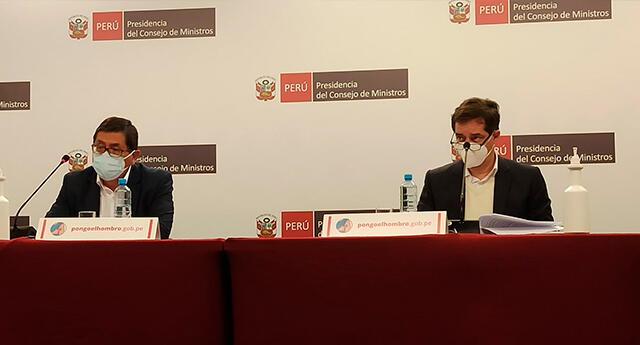 La presidenta del Consejo de Ministros dio conferencia de prensa este lunes