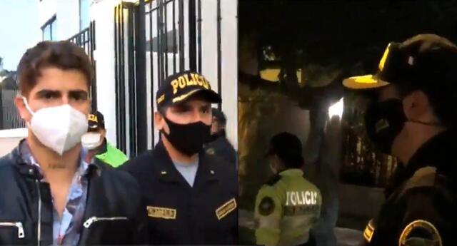 Diego Zurek: Así fue su intervención policial.