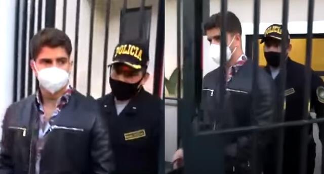 Diego Zurek dio insólita respuesta al ser intervenido por la PNP.