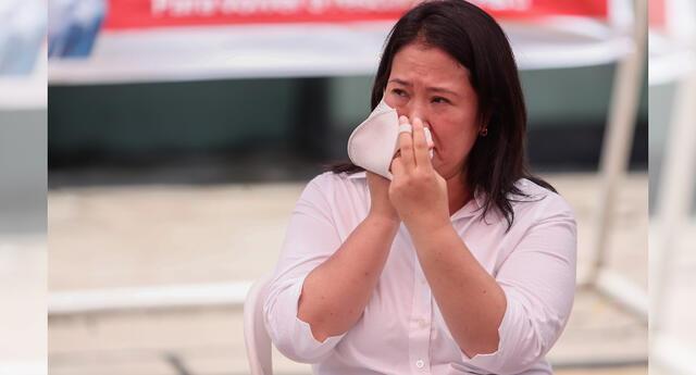 Keiko Fujimori preocupada por la salud de su hermano y cuñada que dieron positivo al COVID-19.