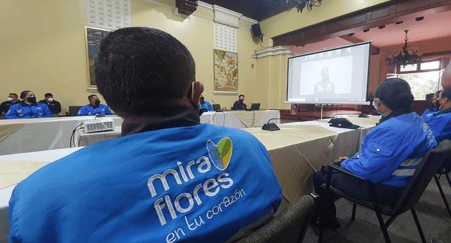 Los trabajadores de la Municipalidad de Miraflores fueron capacitados en temas LGTBI para mejorar la atención a la comunidad.