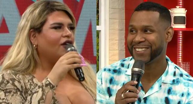 La estilista Ángela Curich llegó al set de América Hoy y sorprendió al hablar de los 'arreglitos' que se habría hecho Edson Dávila.