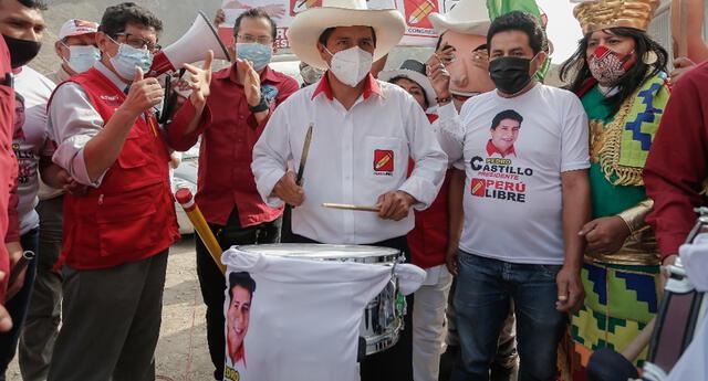 Pedro Castillo indicó que él decidirá cuándo presentar a su grupo de trabajo electoral