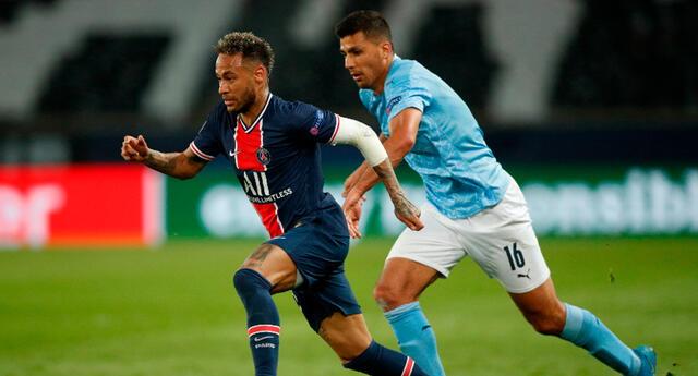 Neymar deberá ponerse el equipo al hombre en Manchester.
