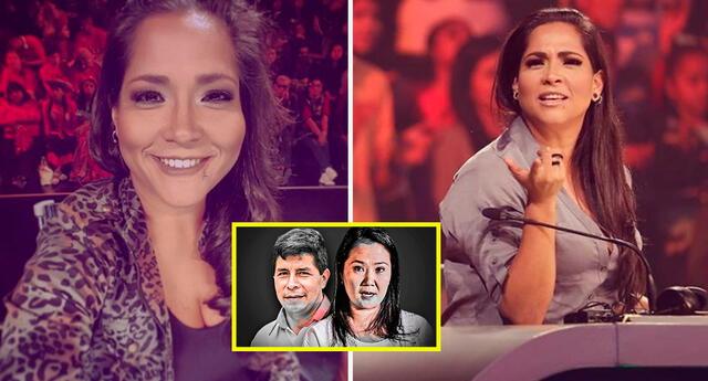 Katia Palma aconseja a fans a no botar en blanco en las elecciones 2021.