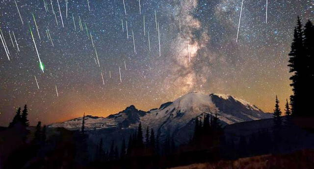El fenómeno Eta Acuáridas proviene de los fragmentos del cometa Halley.