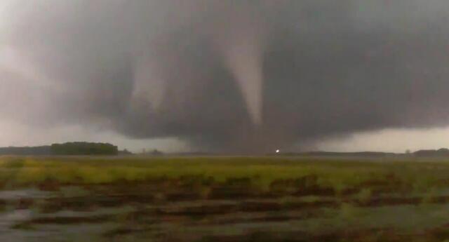 Alerta en Estados Unidos por tornado al sur del país.