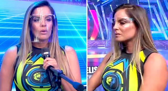 Alejandra Baigorria rompió en llanto en vivo.