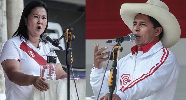 Keiko Fujimori y Pedro Castillo lideraron debate en Chota, Cajamarca, de cara a la segunda vuelta electoral.