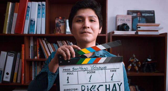 Estudiante da talleres gratuitos de fotografía y cine a pobladores de zonas vulnerables
