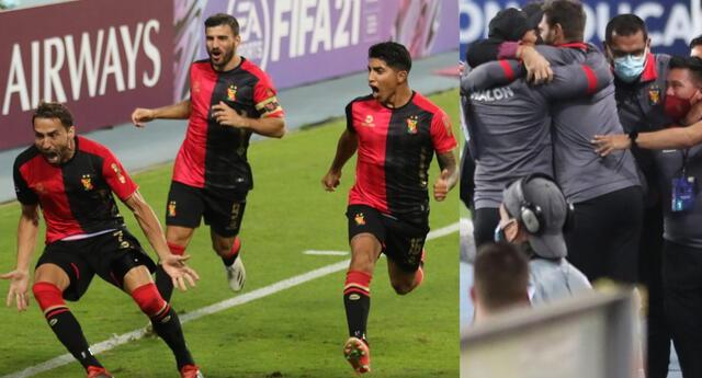 Melgar superó en el Nacional de Lima a Paranaense y sigue a paso firme en la Copa Sudamericana.