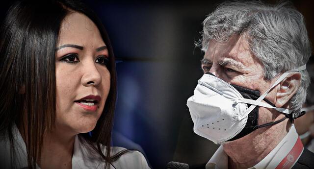 García aseguró que promoverá la destitución de Francisco Sagasti en caso este acuda al TC para demandar la Ley AFP.