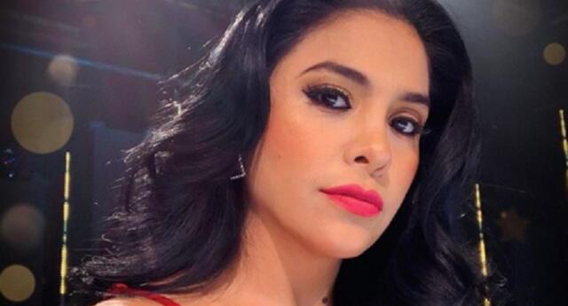La cantante Maricarmen Marín reveló que se lesionó el sábado y cumplirá descanso médico unos días, por lo que no estará en la TV.