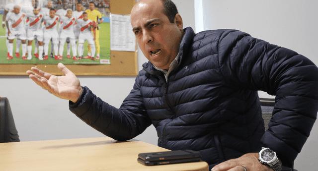 Pedro Spadaro lamenta que gobierno de Sagasti no priorice a trabajadores municipales para la vacunación.
