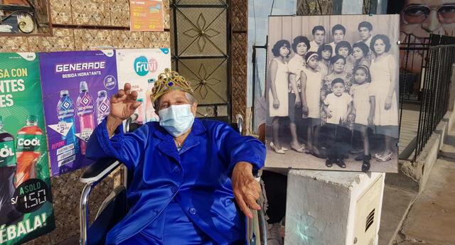 tatarabuela de 104 años recibe segunda dosis