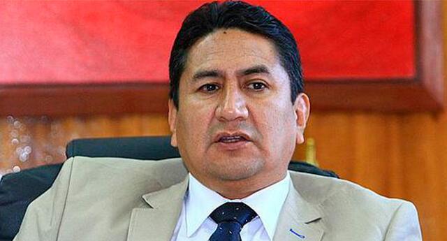 Contraloría reportó irregularidades en la gestión de Vladimir Cerrón como gobernador de Junín.