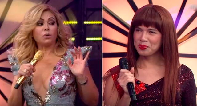 'La Uchulú' se quejó en vivo de Gisela Valcárcel.
