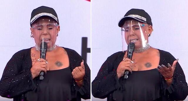 Lucía de la Cruz anuncia con sentidas palabras la muerte de su mamá.