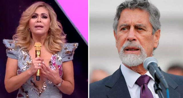Gisela Valcárcel le hace un noble pedido al presidente del Perú.