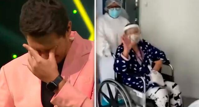Cristian Rivero se quebró al ver video de su madre.