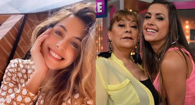 """Milett Figueroa envía tierno saludo a su mami: """"Feliz de tenerte siempre conmigo"""""""