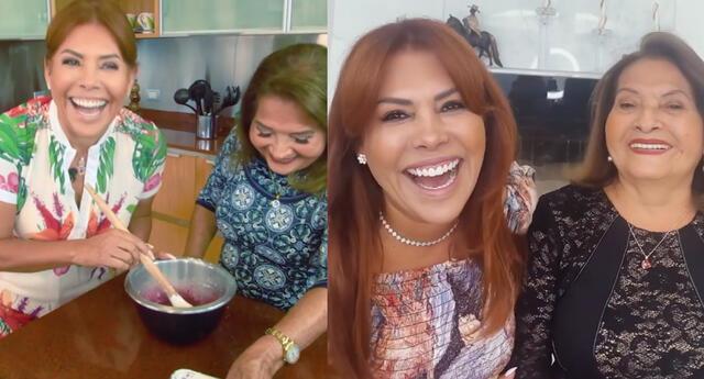 Día de la Madre: Magaly Medina y su mamá envían tiernos saludos en esta fecha especial [VIDEO]