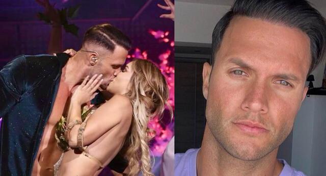 Fabio Agostini responde tras ser captado con Paula Manzanal en su 'depa' tras beso en vivo