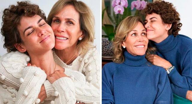 Anahí de Cárdenas expresa su amor incondicional a su mamá.