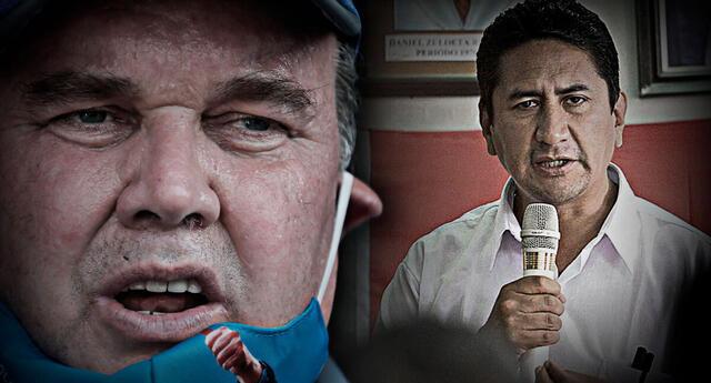 Vladimir Cerrón presentó denuncia penal contra Rafael López Aliga