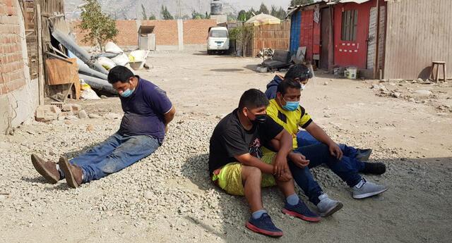 """banda criminal """"Los Chacreros de Carapongo"""""""