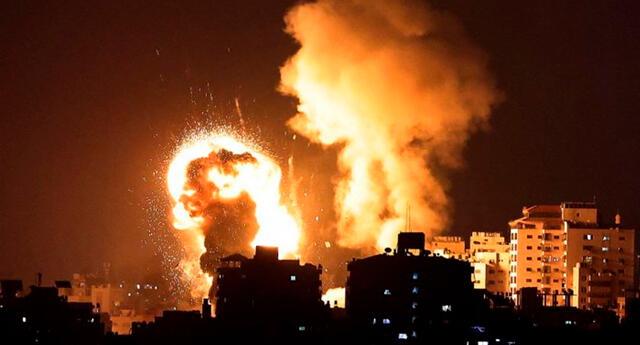 Al menos siete miembros de una familia, incluidos tres niños, murieron en una explosión en el norte de Gaza.