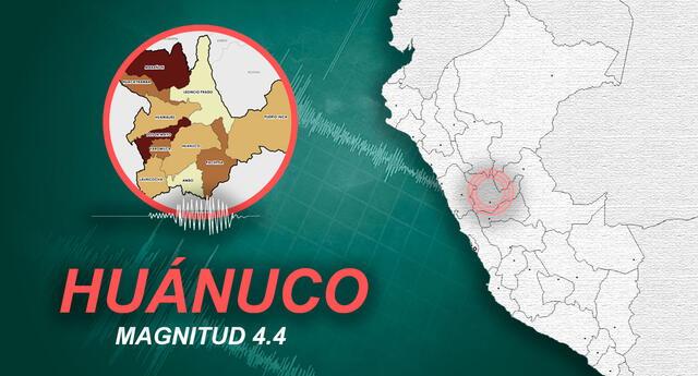 Sismo en Huánuco ocurrió a las 3:43 de la madrugada de este martes 11 de mayo, según IGP.