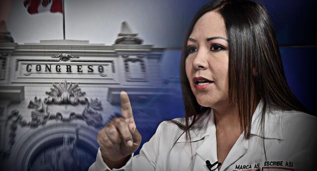 Cecilia García será investigada por los diversos insultos contra la presidenta del Congreso, Mirtha Vásquez.
