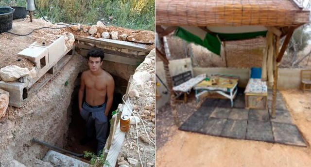 La construcción de Andrés ha dado la vuelta al mundo.