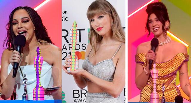Brit Awards 2021 conoce a los artistas que se ganaron una estatuilla.