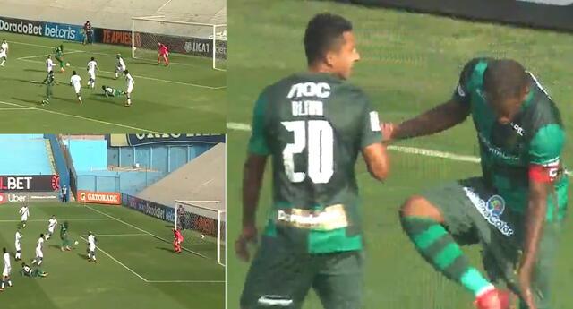 Jefferson Farfán desperdició una clara ocasión de gol para Alianza Lima.