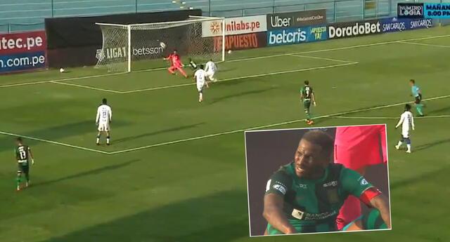 Jefferson Farfán volvió a desperdiciar una clara ocasión de gol para Alianza Lima.