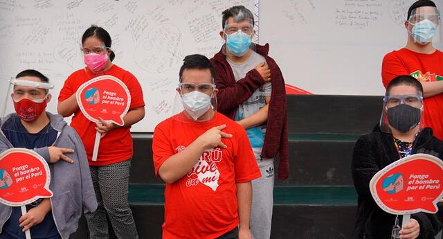 más de 150 personas con síndrome de Down son vacunados