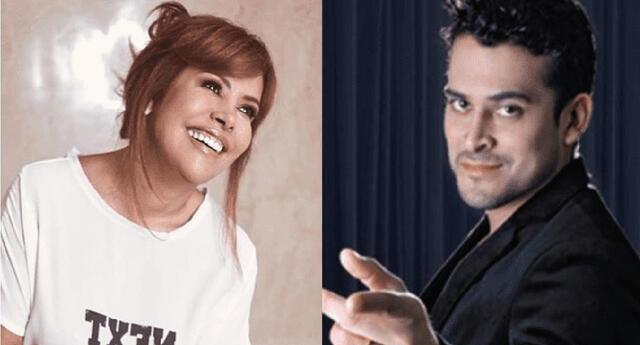 Magaly Medina cuestiona consejos de amor de Christian Domínguez.