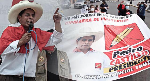 Gremios del sector Educación en La Libertad apoyarán a Pedro Castillo en esta segunda vuelta de las Elecciones 2021.
