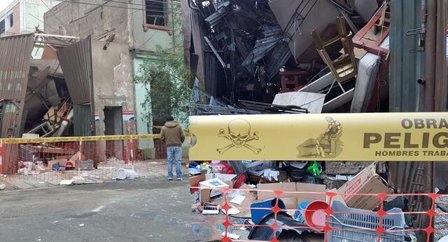 Vecinos de Barrios Altos denuncian daños en viviendas y negocios aledaños.