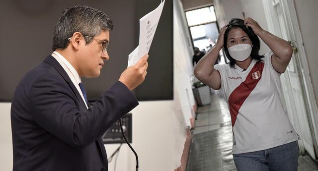 Domingo Pérez se opone a que Keiko Salga del país para realizar campaña proselitista.