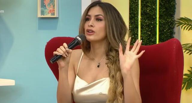 La modelo Milett Figueroa llegó junto a Diego Val a América Hoy y descartó mantener un romance actualmente.